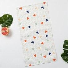 Полотенце Этель «Треугольники», 35×65 см на петельке, репс, пл. 130 г/м², 100% хлопок