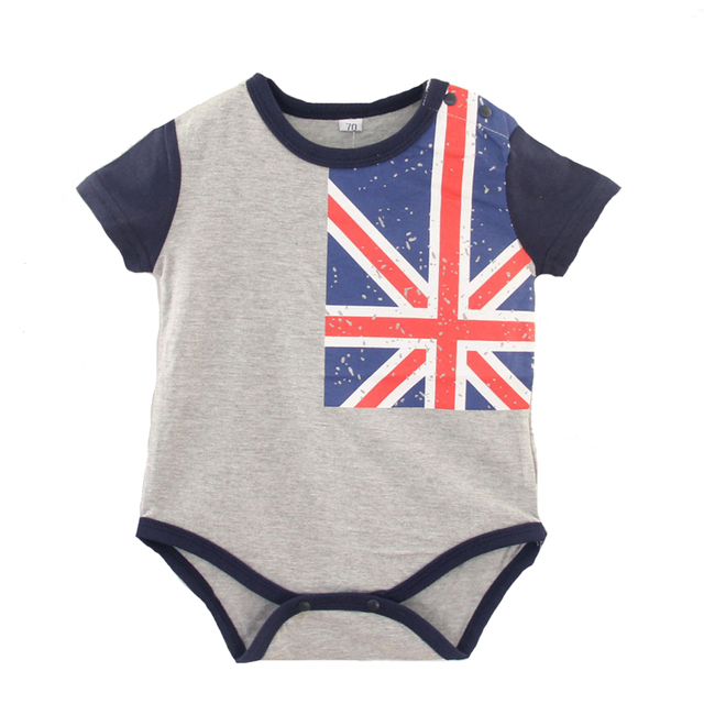 Baby girl boy clothes Babysuit Summer thin romper cotton