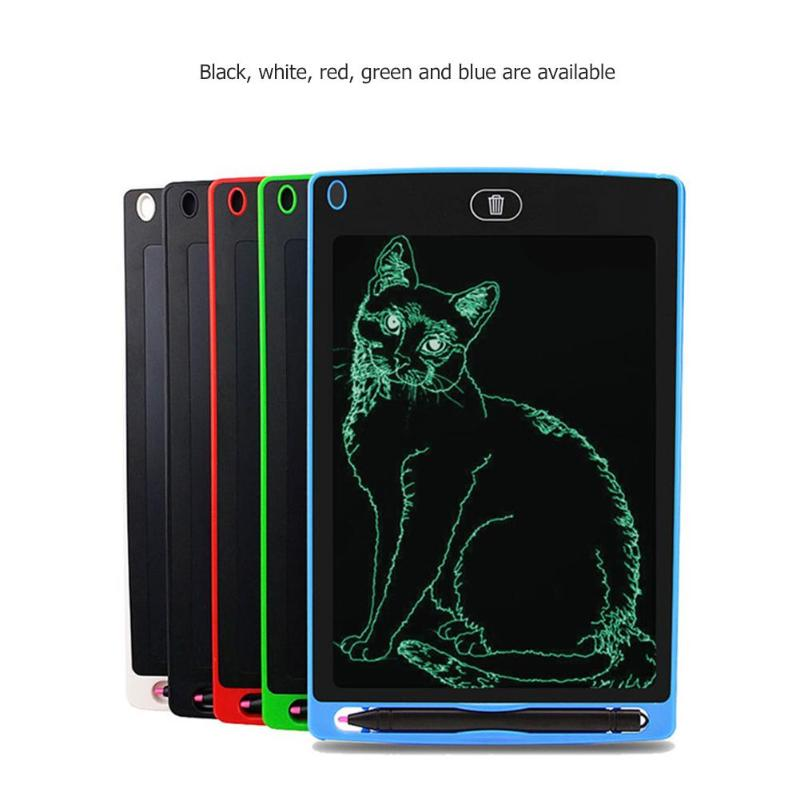 8.5 Inch Smart LCD Writing Tablet Electronic Notepad Kids Drawing Graphics Handwriting Board Educational Toy With CR2020 Battery