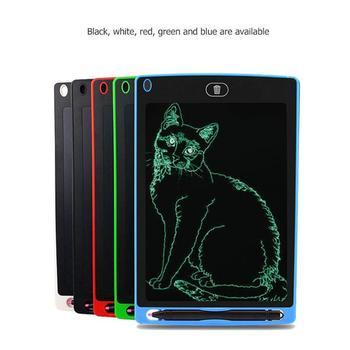 8,5 pulgadas tableta de escritura LCD inteligente Bloc de notas electrónico niños dibujo gráficos tablero de escritura a mano juguete educativo con batería CR2020