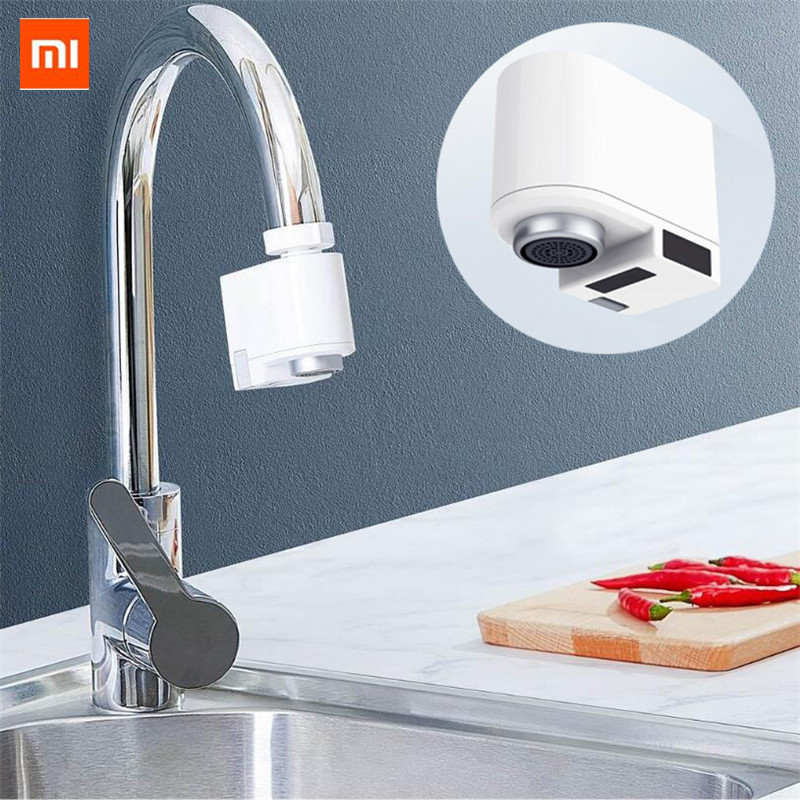 Xiaomi Zj Automatic Sense Water Saving Device Intelligent Infrared Induction Kitchen Bathroom Faucet Sensor Bathroom Sink Faucet