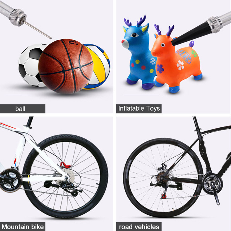 Portable Mini Bike Pump 130PSI High Pressure Hand Air Ball Toy Tire Inflator Pump Ultr light MTB Road Bike Pump in Bicycle Pumps from Sports Entertainment