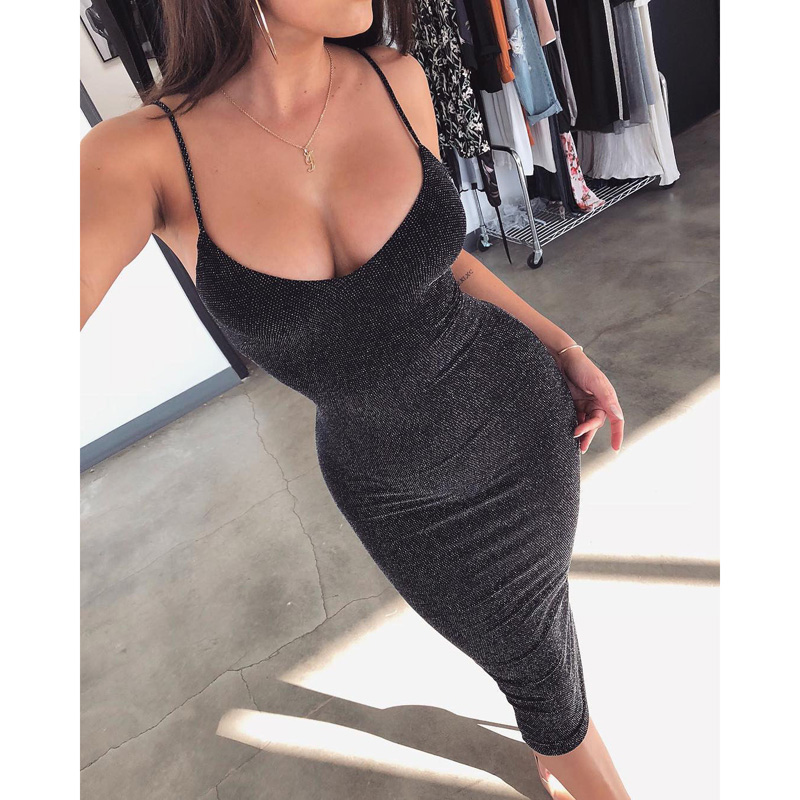 Summer <font><b>Dress</b></font> <font><b>2018</b></font> Fall <font><b>Women</b></font> <font><b>Sexy</b></font> heath <font><b>Dresses</b></font> <font><b>Ladies</b></font> Solid <font><b>V</b></font> <font><b>Neck</b></font> Short Sleeve <font><b>Bodycon</b></font> <font><b>Dress</b></font> image