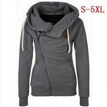 S 5xl Zip Up Sweatshirt 2019 New Products Hoodie Women Pullo