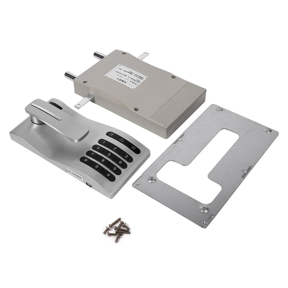 Nouveau clavier tactile mot de passe clé accès serrure numérique électronique Induction armoire codée serrures 1 pc outils de sécurité