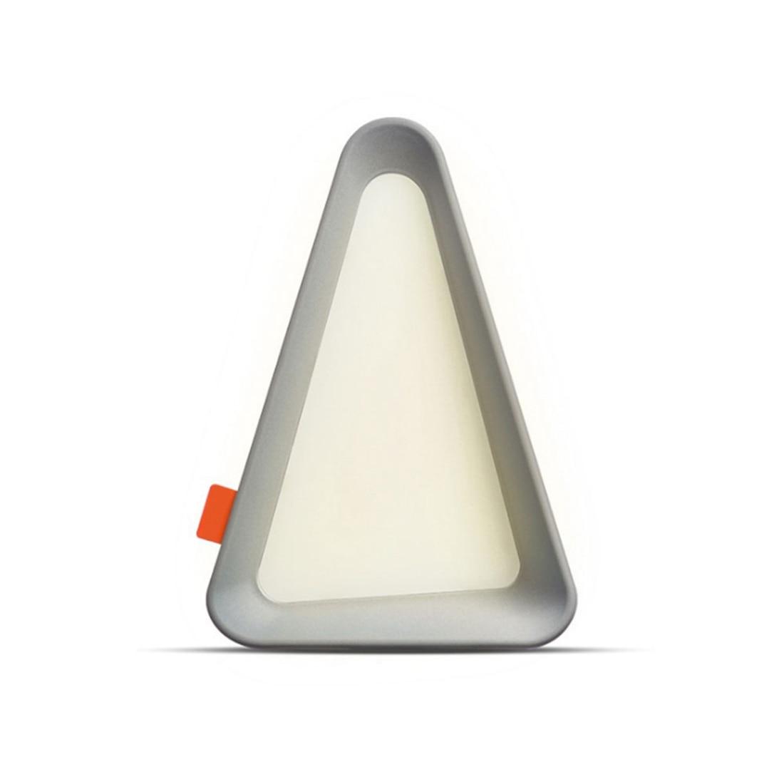 Gray Rock LED Flip Lamp Triangle-Design Desk Lamp Triangle-Design Originality Modern Table Lamp USB Charge LED Fashion Ni
