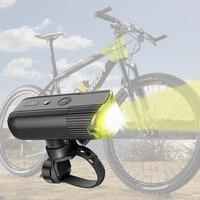 USB Rechargeable Bicycle Light LED Headlight Emergency Power Lamp 4000mAh For Running Camping