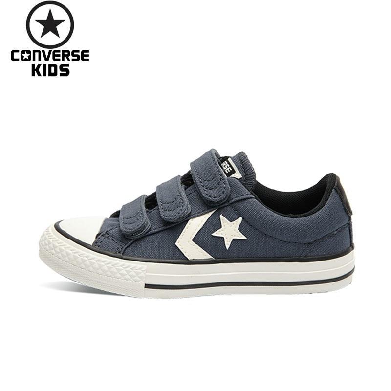CONVERSE Child Shoes CONS Star Arrows Magic Subsidies Shoe Children Canvas Shoe For Boys And Girls 656149C 656148C converse cons повседневные брюки