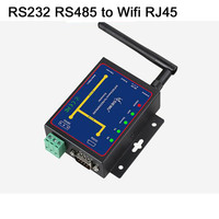 Wifi&Ethernet To RS232&RS485 WIFI Serial device Server converter Module support TCP/UDP/IP P2P