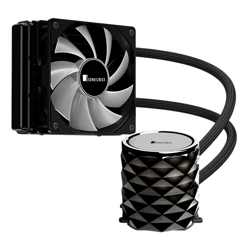 Jonsbo Tw3-120 Pc Cpu Water Cooling 4Pin Pwm Integrated Water Cooling Cooler For Lga 775/115X Intel Amd Ryzen Apu Computer