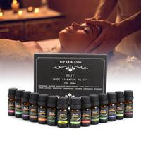 100% Pure Plant Aromatherapy Diffusers Essential Oil Set 10ml Organic Body Massage Relax Fragrance Essential Oil Skin Care Kit