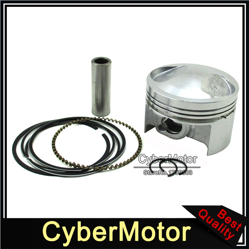 54mm Piston Kit For Chinese Zongshen <font><b>125cc</b></font> Oil Cooled <font><b>Engine</b></font> Pit Dirt Motor Bike Motorcycle Motocross image