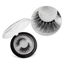цена SHIDISHANGPIN 3d mink eyelashes natural crisscross false eyelashes 10mm cilios hand made cruelty free makeup customize lashes онлайн в 2017 году