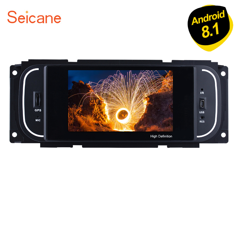Seicane Android 8 1 5 Inch Car Radio Stereo Navi GPS Unit Player for 2001 2002