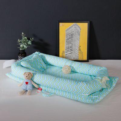 Portable bébé berceau infantile enfant en bas âge berceau pour nouveau-né pépinière voyage pliant bébé nid bébé lit pour bébé soins pliable berceau - 4