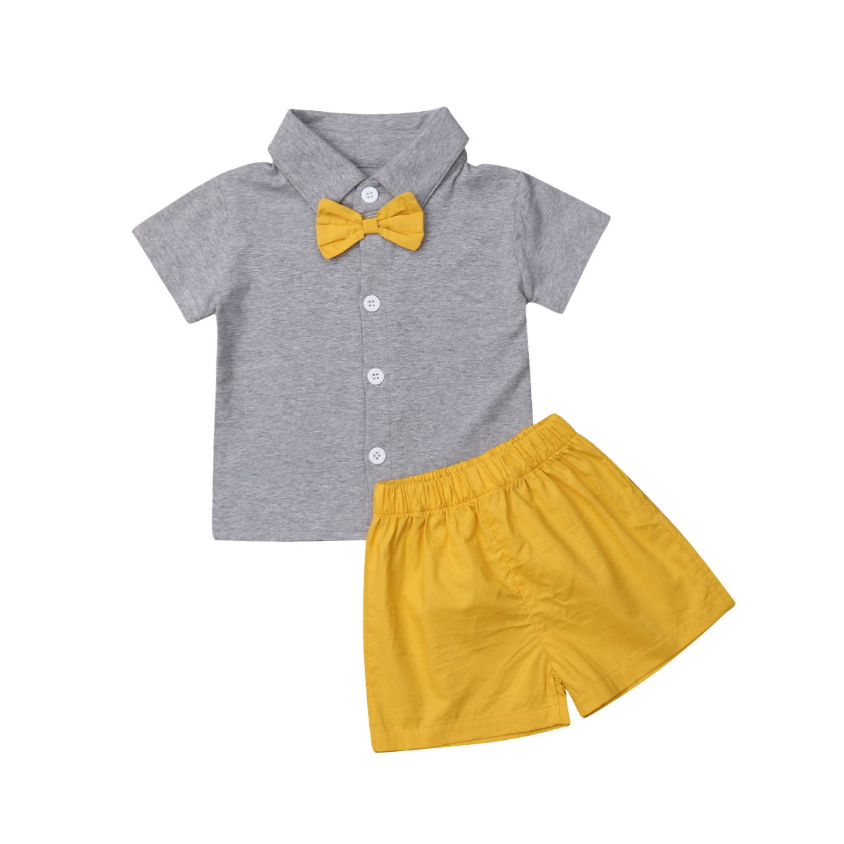 26e03af259 Kids Baby Big Little Sister Brother Clothes Sets Tops T-shirt Short Sleeve  Shorts Bow