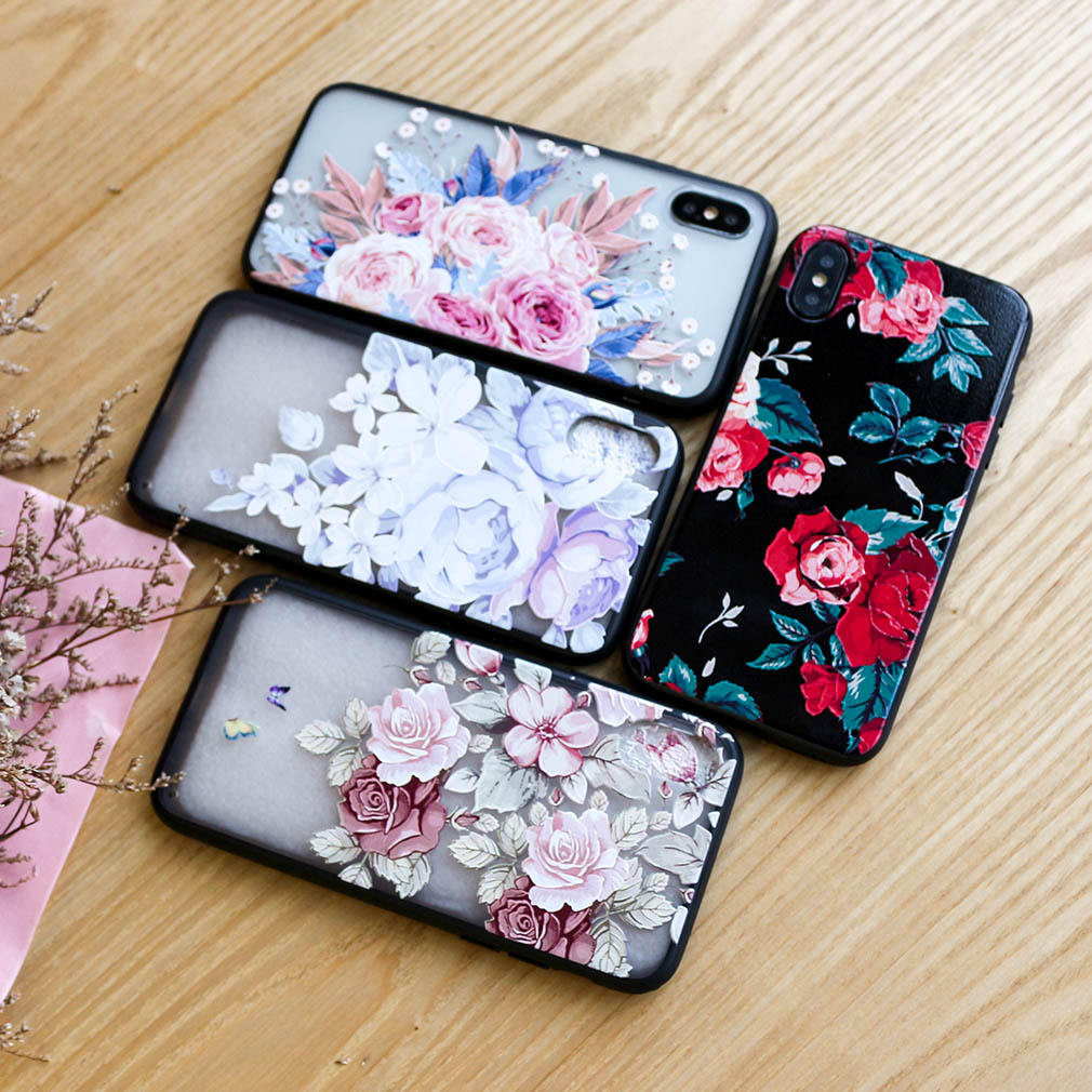 Cartoon Case For Iphone 7 8 X Plus 6 6S XR XS Max Coque Luxury 3D Funny Cute Hard PC Brand Full Flamingo Cover For Iphone 7(China)