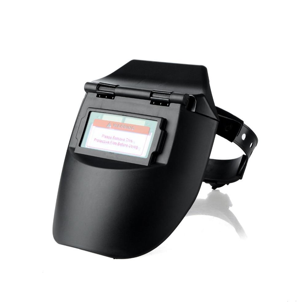 Portable Solar Automatic Photoelectric Welding Mask Flat Flip Half Helmet Helical Welding Helmet