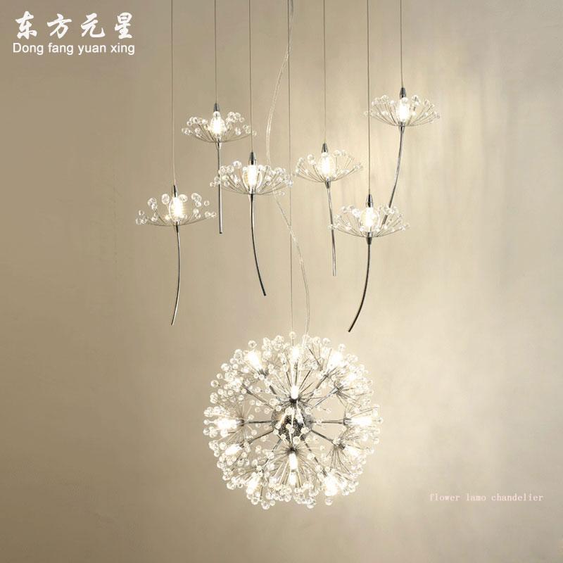 6PCS Sea Blue Butterfly Crystal Raindrop Lamp Prism Part Xmas Tree Decor 150mm