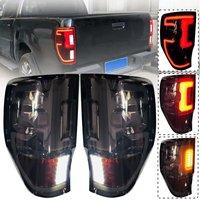 Пара светодиодный задний фонарь Энергосберегающие лампы задний фонарь для Ford Ranger Raptor T6 T7 PX MK1 MK2 Wildtrak 2012 2013 2014 2015 2018