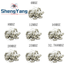 Crystal-Oscillator Electronic-Kit Quartz Ceramic Hc-49s 12-16 20-25-Mhz 5pcs 4-8 7-Kinds