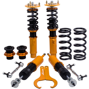 Coilover Kit for BMW E92 E93 2007-2013 3 SERIES Shocks & Coil Spring Adj. Height CoilOvers coil over 2pcs front+2 pcs rear