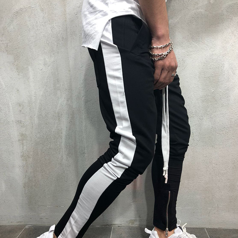 Men Casual Joggers Pants Fitness Sportswear Tracksuit Bottoms Sweatpants Trousers Pantalon Hombre Male's Hip Hop Streetwear Pant