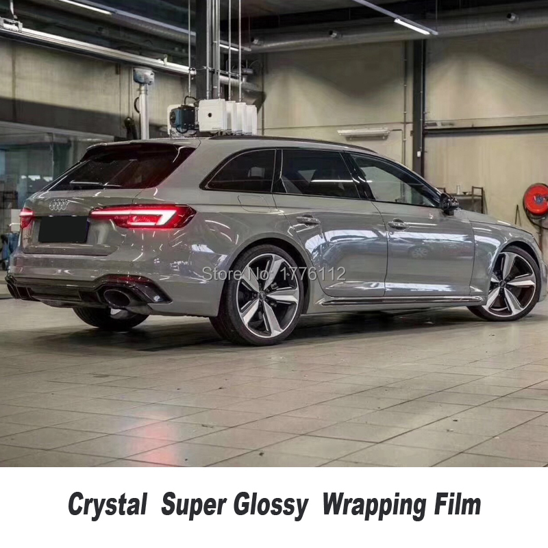 Здесь можно купить  High Quality Nardo gray Glossy Vinyl Wrap Sticker crystal With Air Bubble Free Vehicle  Wrapping Foil Highest quality Adhesive   Автомобили и Мотоциклы