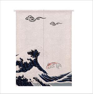 Image 5 - XIAOKENAI Vải Lanh Cotton Màn Nửa Màn Nhà Bếp Nhật Bản Phòng Ngủ Trang Trí Nhà Phân Vùng Màn Rèm Nhà Tắm