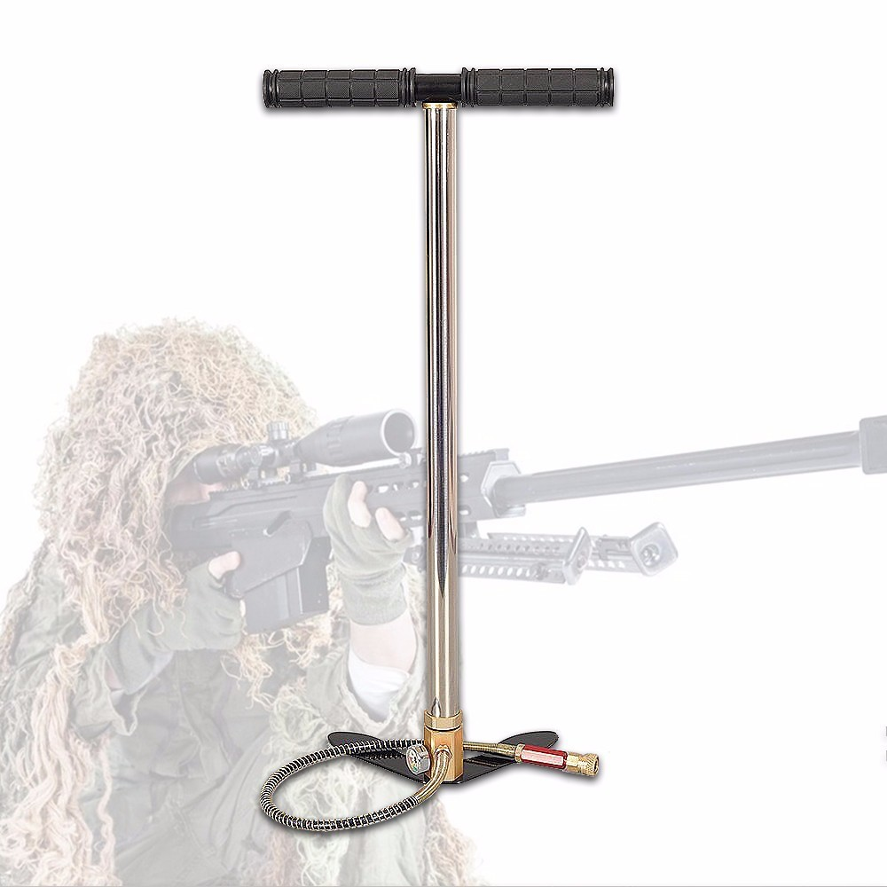 300bar 30mpa 4500psi 3 Stage Mini High Pressure Compressor , Hand Operated Pcp Pump For Air Pump Rifles Paintball