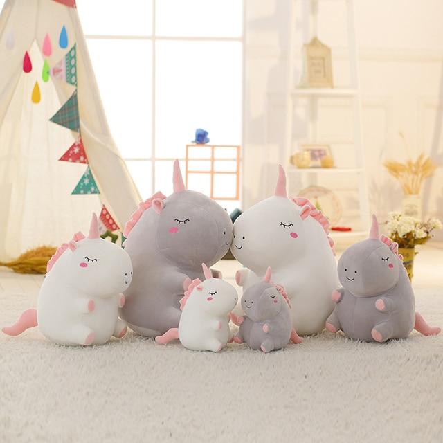 Plush Toy Unicorn Ragdoll Doll Child Girl Cute Cartoon Birthday Gift Unicorn