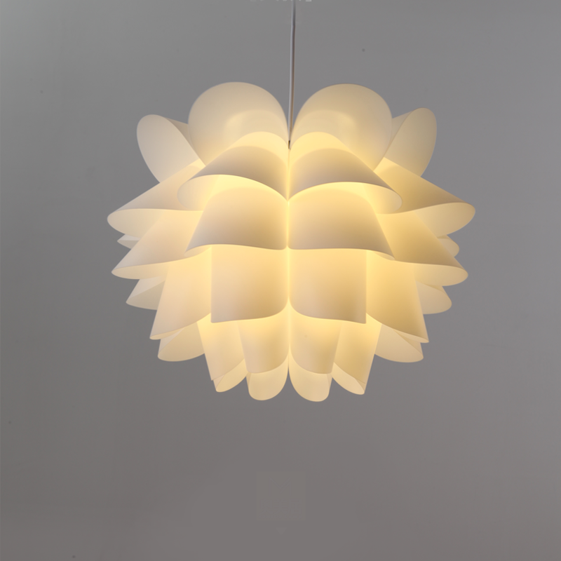 Pendant lights Modern hanglamp design lamp White Lotus Flower DIY loft living room Cafe Restaurant Bar Decoration light fixturePendant lights Modern hanglamp design lamp White Lotus Flower DIY loft living room Cafe Restaurant Bar Decoration light fixture