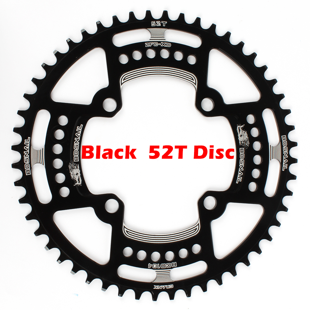 Image 2 - Bike Chainring 104BCD Mountain Bike Single Chain Ring Disc Narrow Wide Chainring 44T / 46T / 48T / 50T / 52T-in Bicycle Crank & Chainwheel from Sports & Entertainment