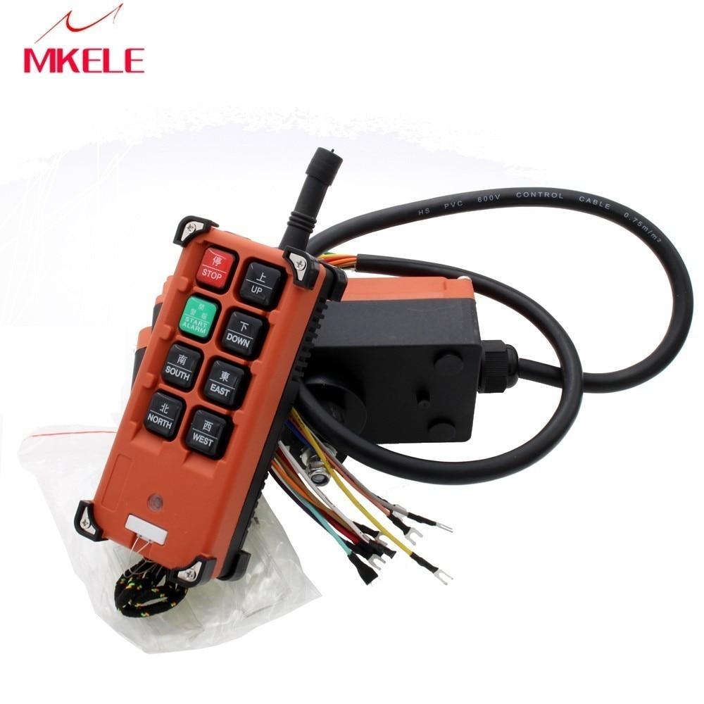 AC 220V 380V 110V DC 12V 24V Hoist remote controller switches Industrial Crane Control Lift Crane