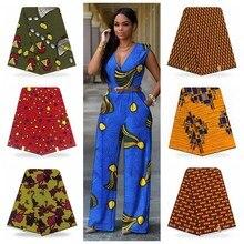Голландский воск настоящий нигерийский Анкара Принт 6 ярдов Африканский настоящий голландский воск настоящий швейный материал
