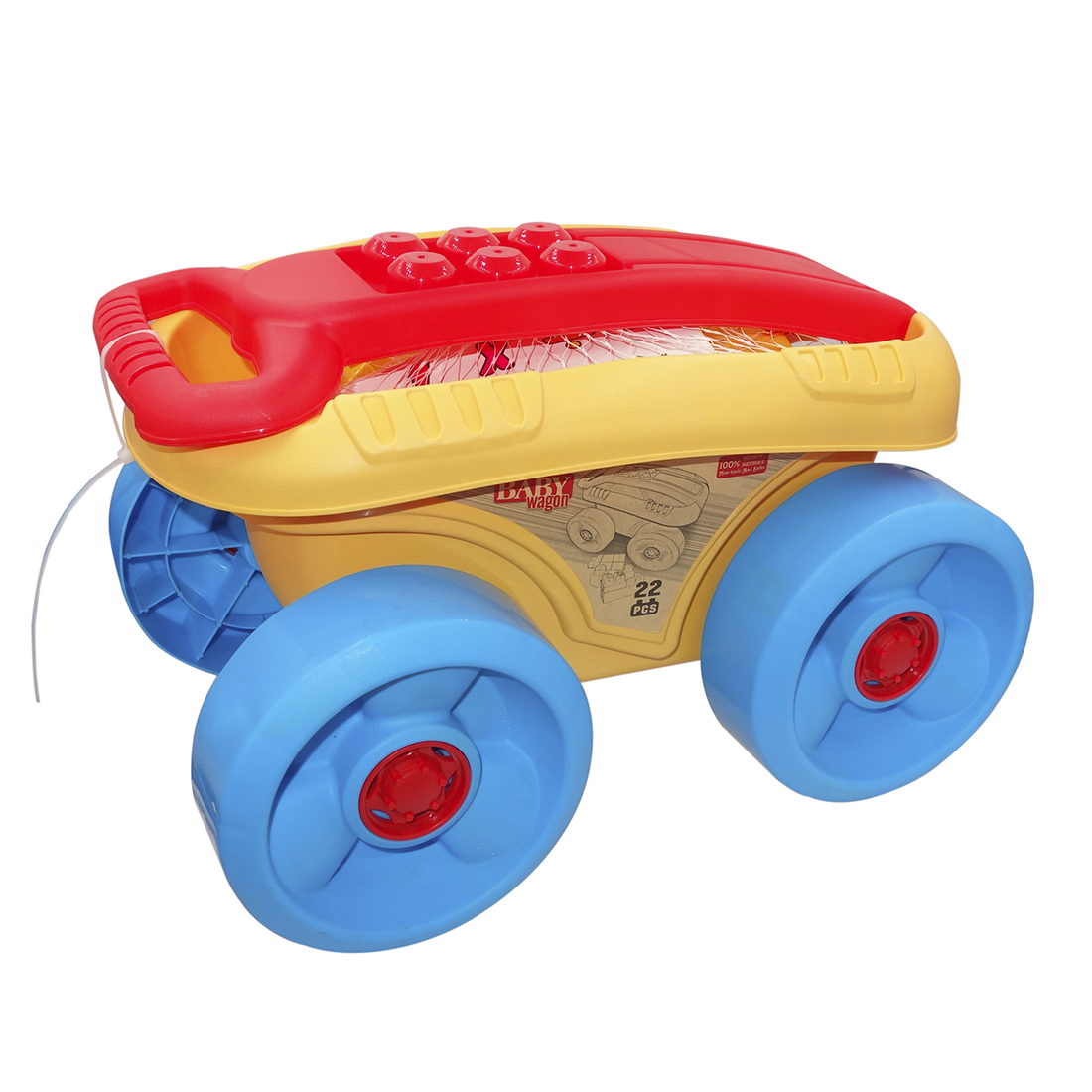 22Pcs Outdoor Children Beach Toys Sand Wagon Toys Playset For Kids Kids Baby Beach Sand Toys Set  (Parts Random Color)