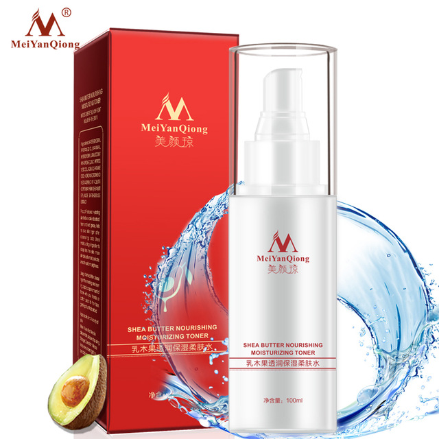 Shea Butter Collagen Hyaluronic Acid Extract Moisturizing Face Toners Skin Care Moisturizing Whitening Acne Treatment Face Care