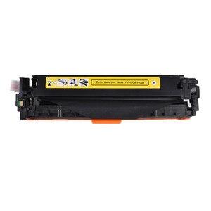Image 4 - CF210A CF211A 212A CF213A 131A Uyumlu Renkli Toner HP için kartuş LaserJet Pro 200 RENKLI M251n M251nw M276n M276nw yazıcı