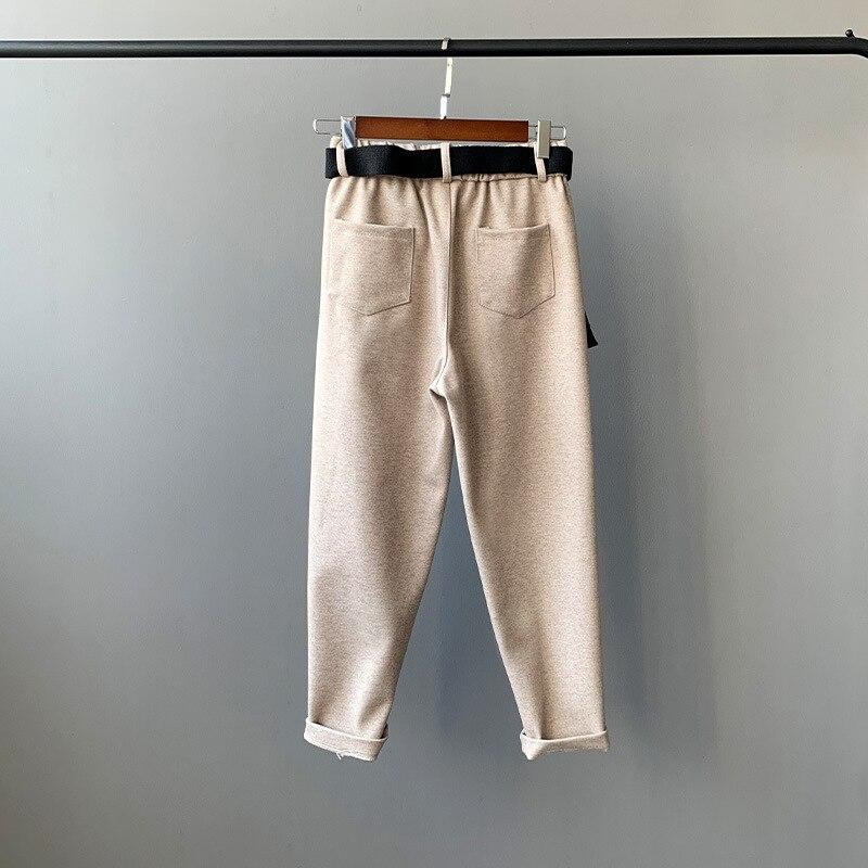 3 2018 Nuove Signore pantaloni di Haren, materiale di seta twm876