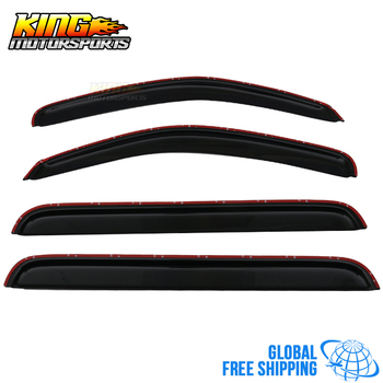Fit For 05-12 Nissan Pathfinder Acrylic Window Visors 4Pc Set Global Free Shipping