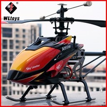 цена на WLtoys V913 Brushless Version V913B 4CH  Big RC Helicopter RTF 2.4G with  Brushless Main Motor ZLRC