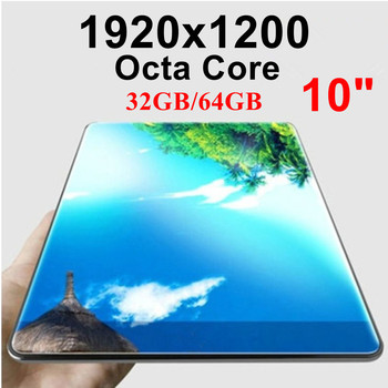 KUHENGAO Android New 4G FDD LTE 10 inch IPS Octa Core Tablet Pc call phone mobile the android tablet pc 32/64GB 1920*1200 IPS