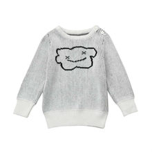 Autumn,winter Warm Soft Casual Sweater For Toddler Kid Boys Girls Clothes Knitted Cloud For Baby Coat Tops #JD50%(China)