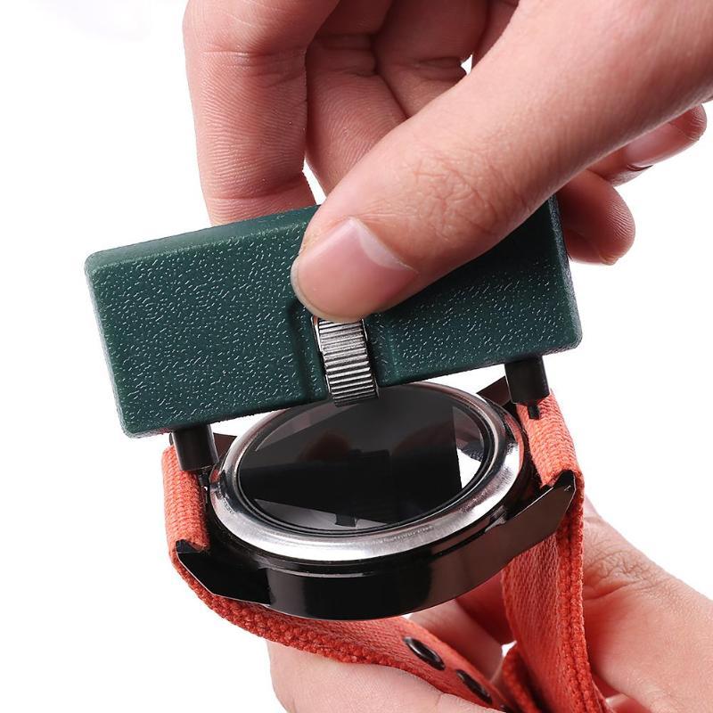 Tampa inferior do relógio de dois pés, ferramenta profissional de reparo com abridor de caixa traseira