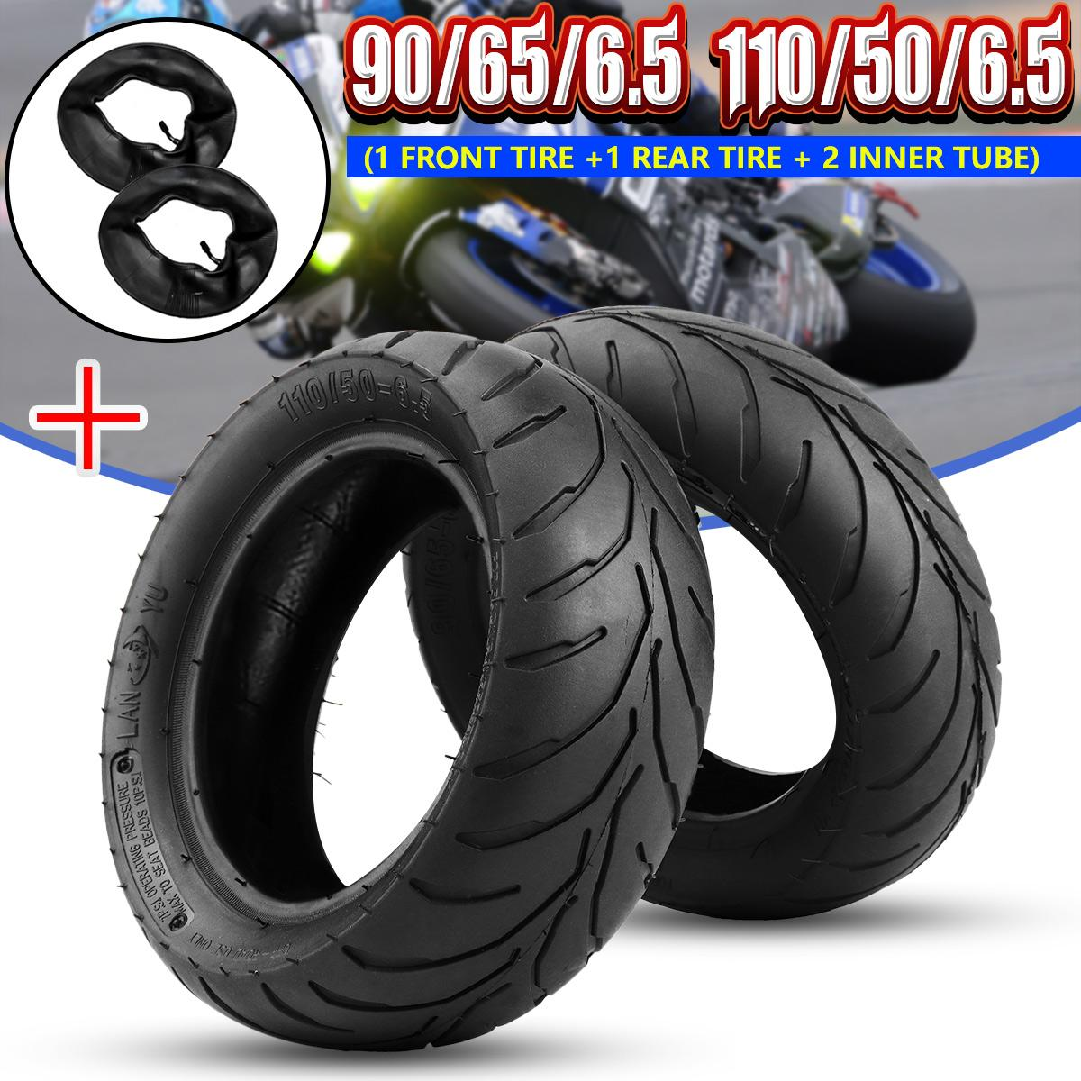 High Quality Front Rear Tire with Inner for 47cc/49cc Mini Pockets Bike Dirt Bike 90/65 6.5 or 110/50 6.5