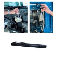SPEEDWOW Plastic Metal Brake Fluid Tester Pen 5 LED Auto Vehicle Automotive Test