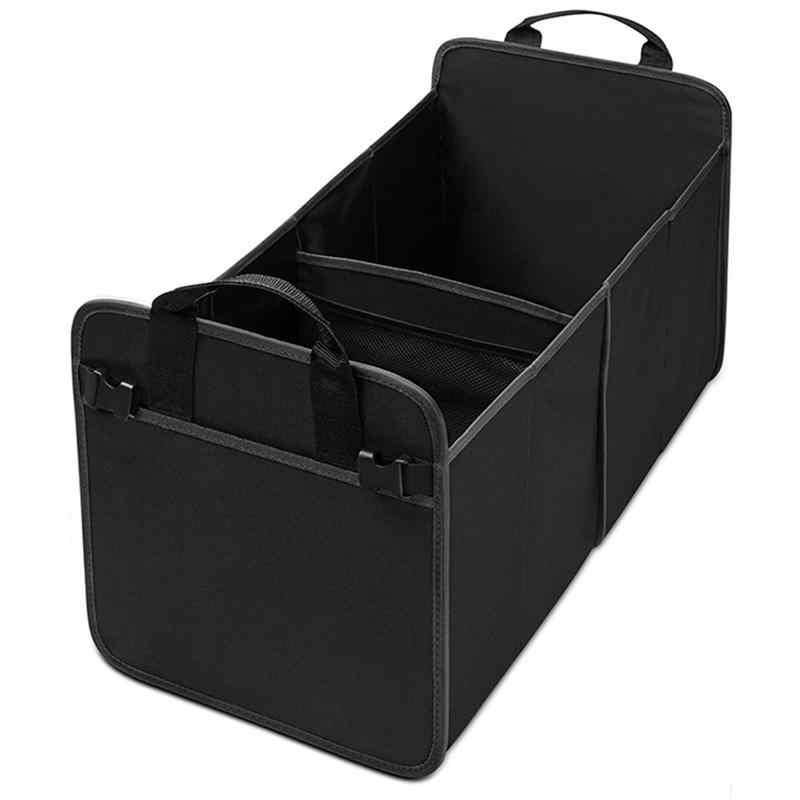 1pc Waterproof Car Storage Organizer Box  Oxford Portable Collapsible Trunk Organizer Accessories For Car Home Accessories