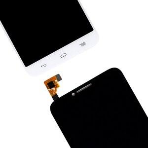 Image 3 - עבור Alcatel One Touch איידול 2 OT6037 LCD עם מסך מגע Digitizer חיישן הרכבה עבור אלקטל 6037 תצוגת משלוח חינם
