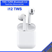 Get more info on the 2019 i12 Tws Wireless Bluetooth Earphones True Touch control Earbuds 3D Stereo Sound & Charging case for iPhone& Android phone