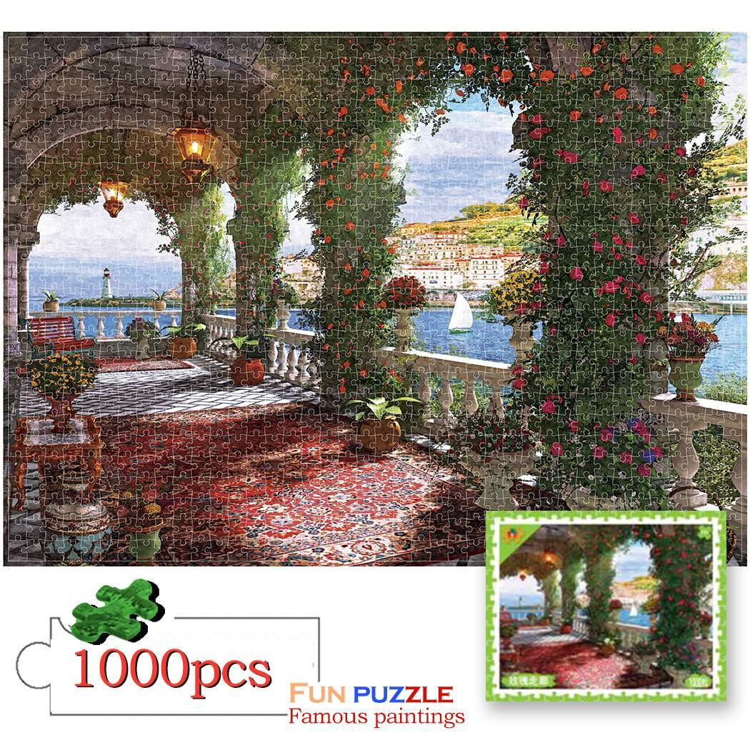 puzzle adulte 1000 pieces Jigsaw Landscape puzzle home decoratiob for children educational toys puzzle game jigsaw Puzzles Gift